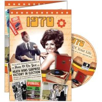 1970 Greetings Card & DVD